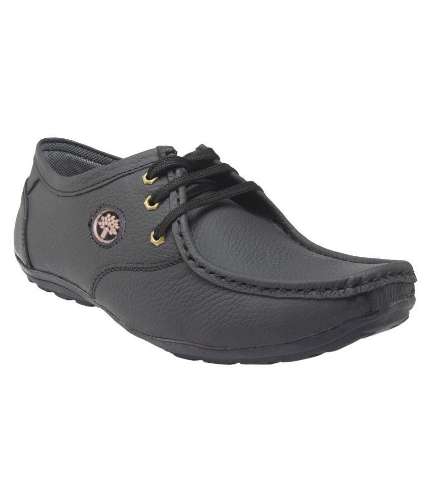 ss black genuine leather formal shoes price in india buy