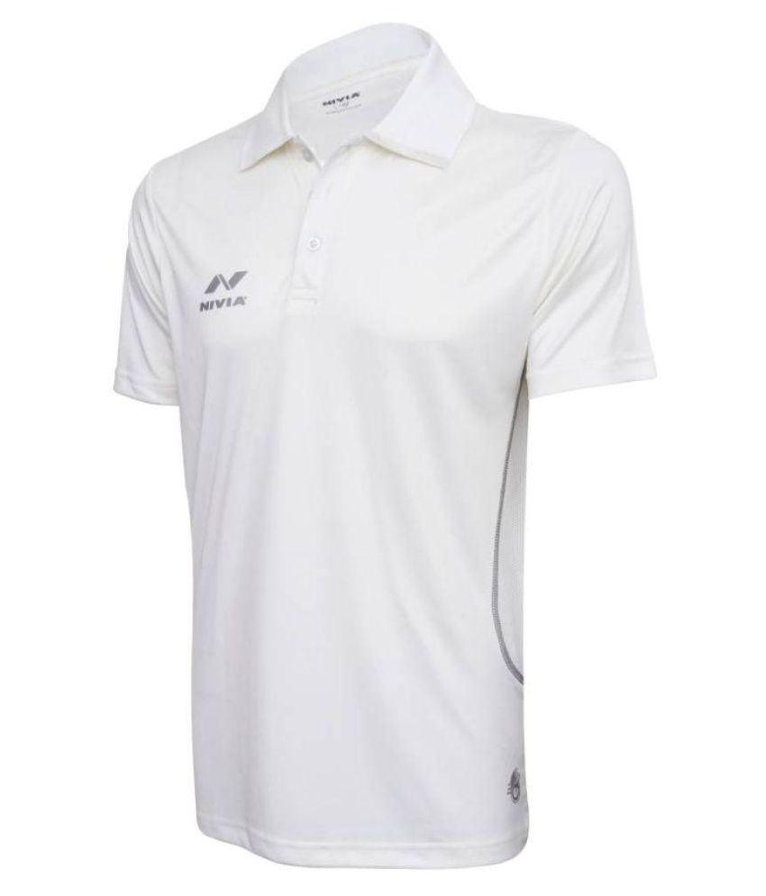 Nivia Lords Cricket Jersey Half Sleeves-2503l1
