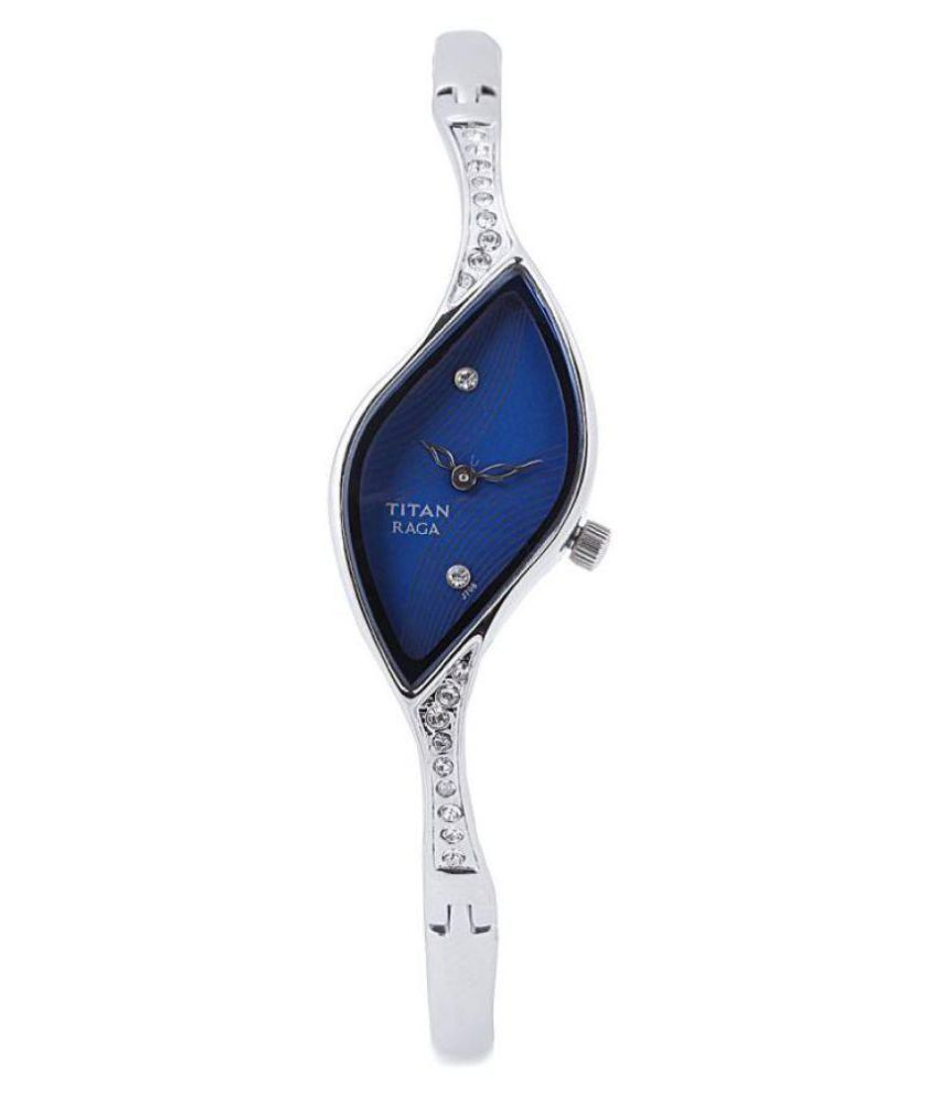 a11ee89a1 Titan NH9710SM01E Raga Silver Analog Watch for Women available at SnapDeal  for Rs.4665