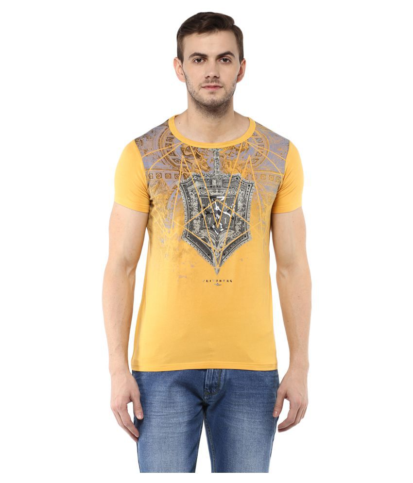 Fritzberg Yellow Round T-Shirt