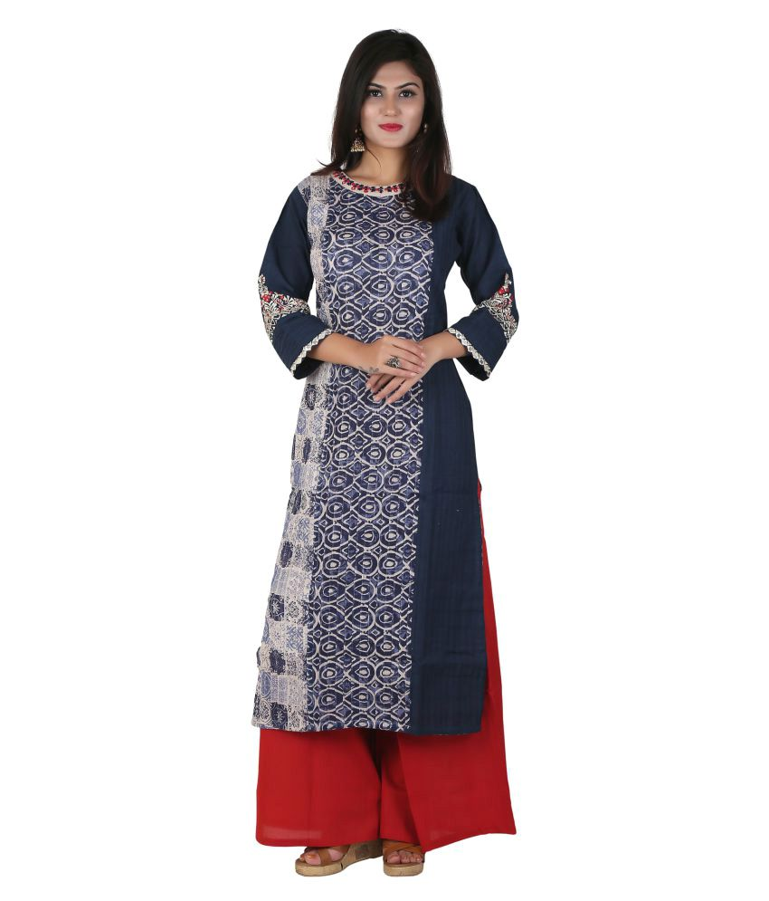 Payal Multicoloured Cotton Straight Stitched Suit