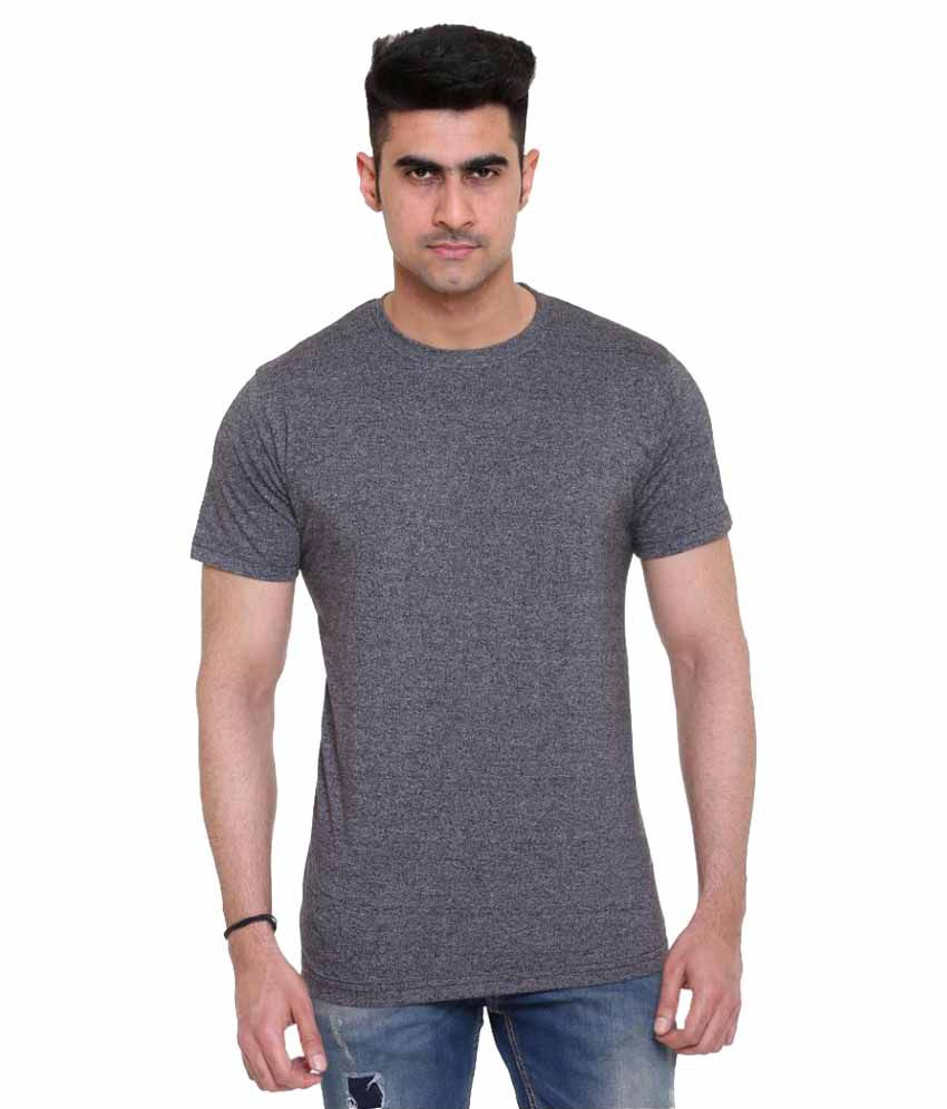 Colors & Blends Grey Round T-Shirt