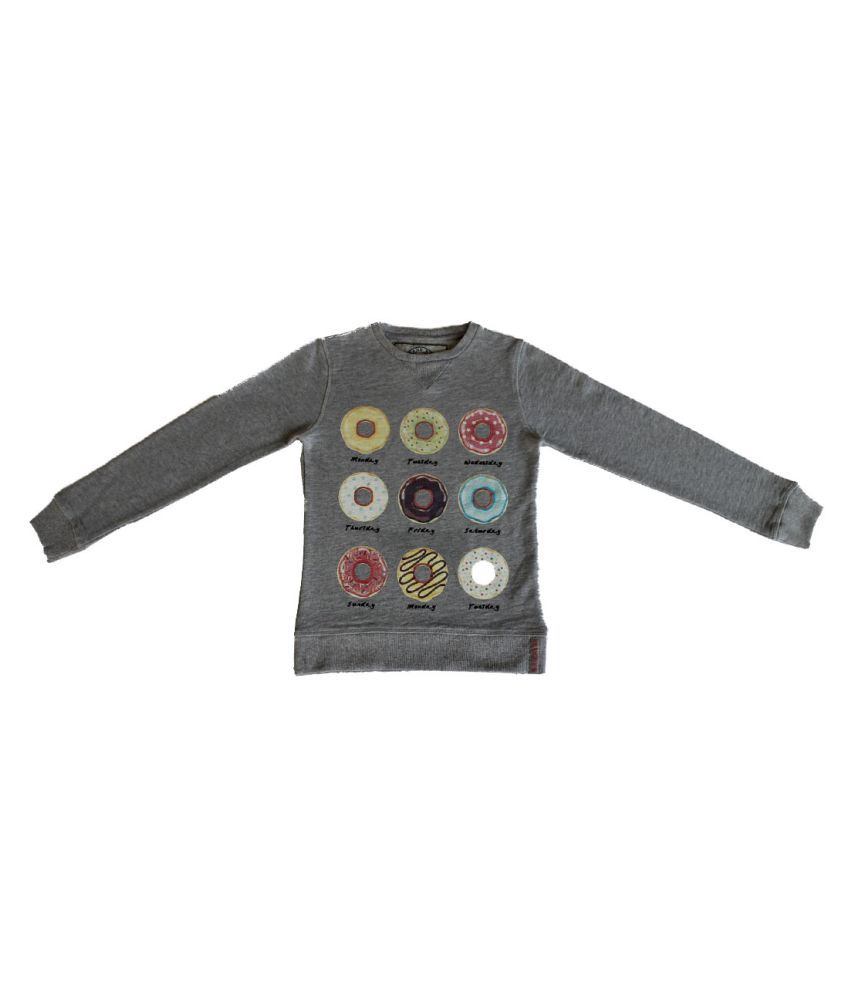 Gron Stockholm Grey Fleece Sweatshirt