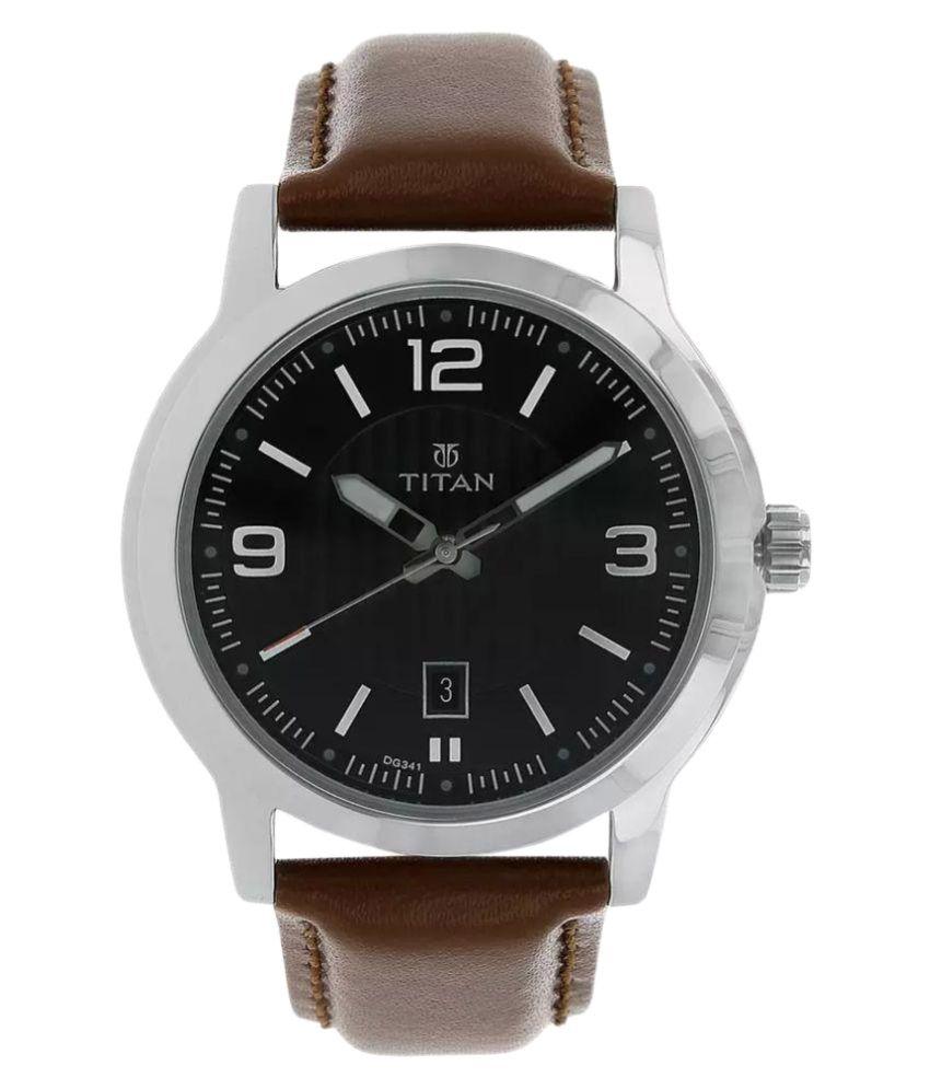 Watches - Titan brown dial analog watch for women   Titan ...