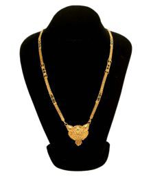 Aarohi Jewells & Gems Golden Mangalsutra