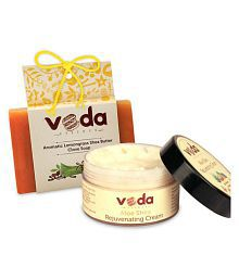 Veda Essence NaturalShea Butter& Soap Cream 100 Gm 1 X 125 Gm Soap Gm Pack Of 2
