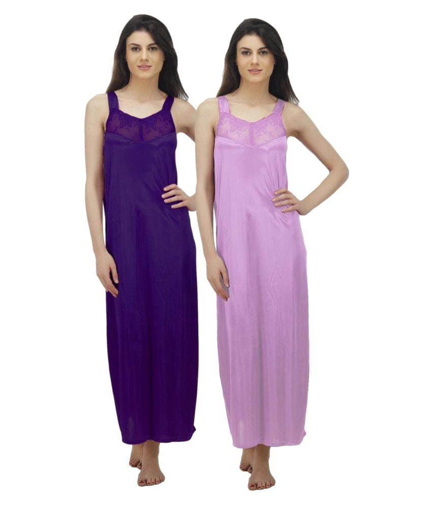 Arlopa Satin Nighty & Night Gowns