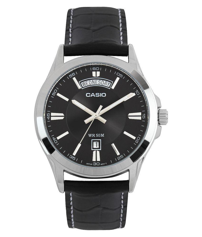 Image of Casio Analog Black Dial Men's Watch