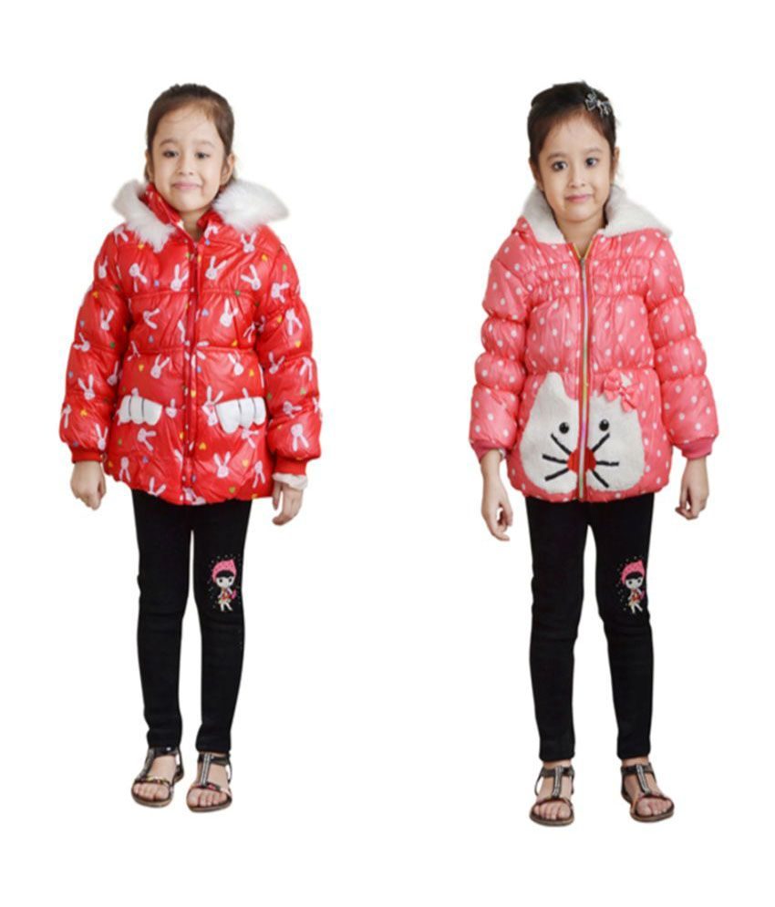 Crazeis Multicolour Jacket - Pack of 2