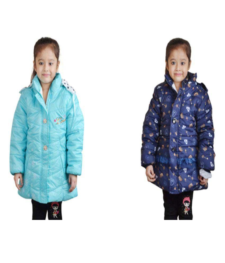 Qeboo Multi Color Nylon Jackets