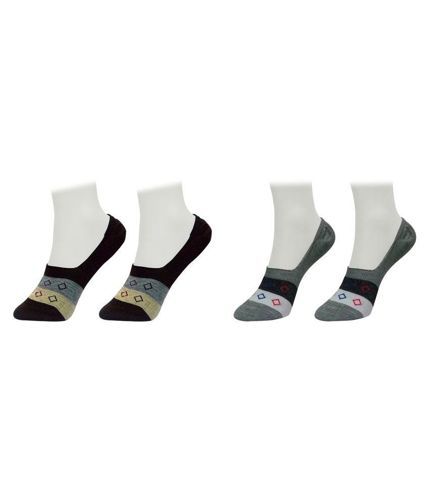 Gold Dust Multicolour Footies Socks