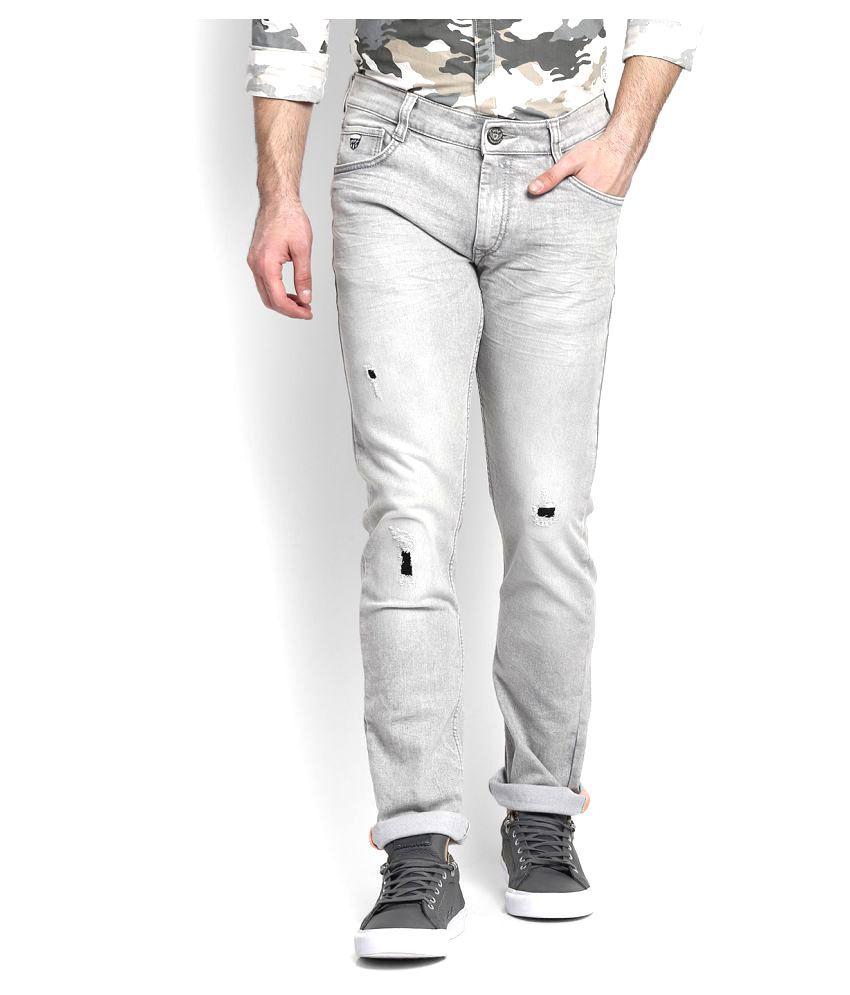 John Players Grey Skinny Jeans
