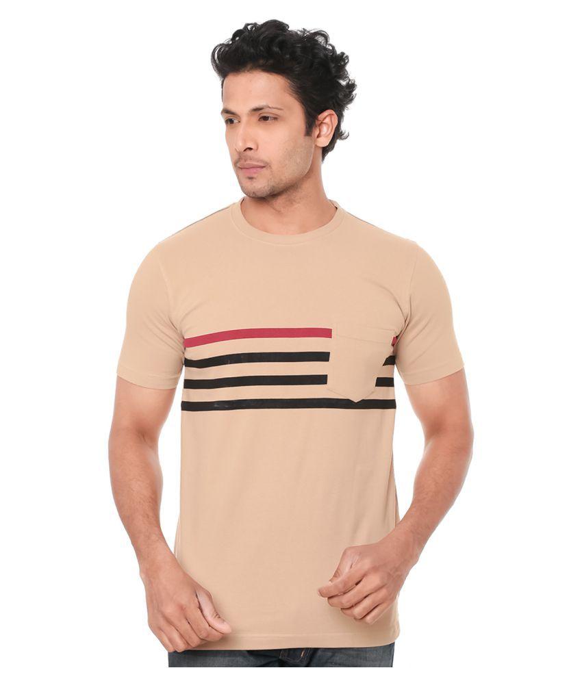 Wexford Beige Round T-Shirt