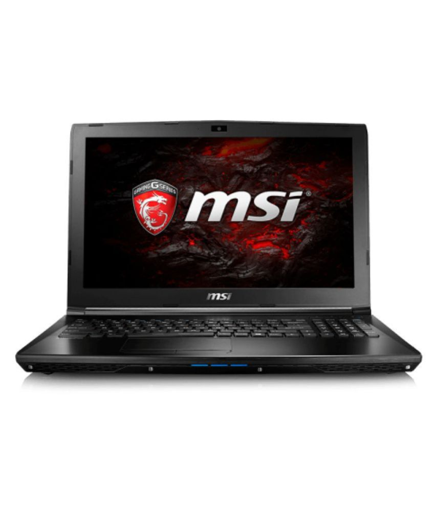 MSI G Series GL62 7QF Notebook Core i7 (7th Generation) 8 GB 39.62cm(15.6) DOS 2 GB Black