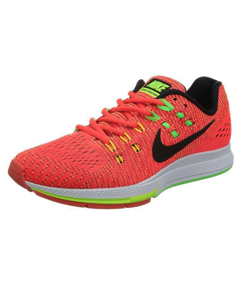 Nike Orange Running Shoes