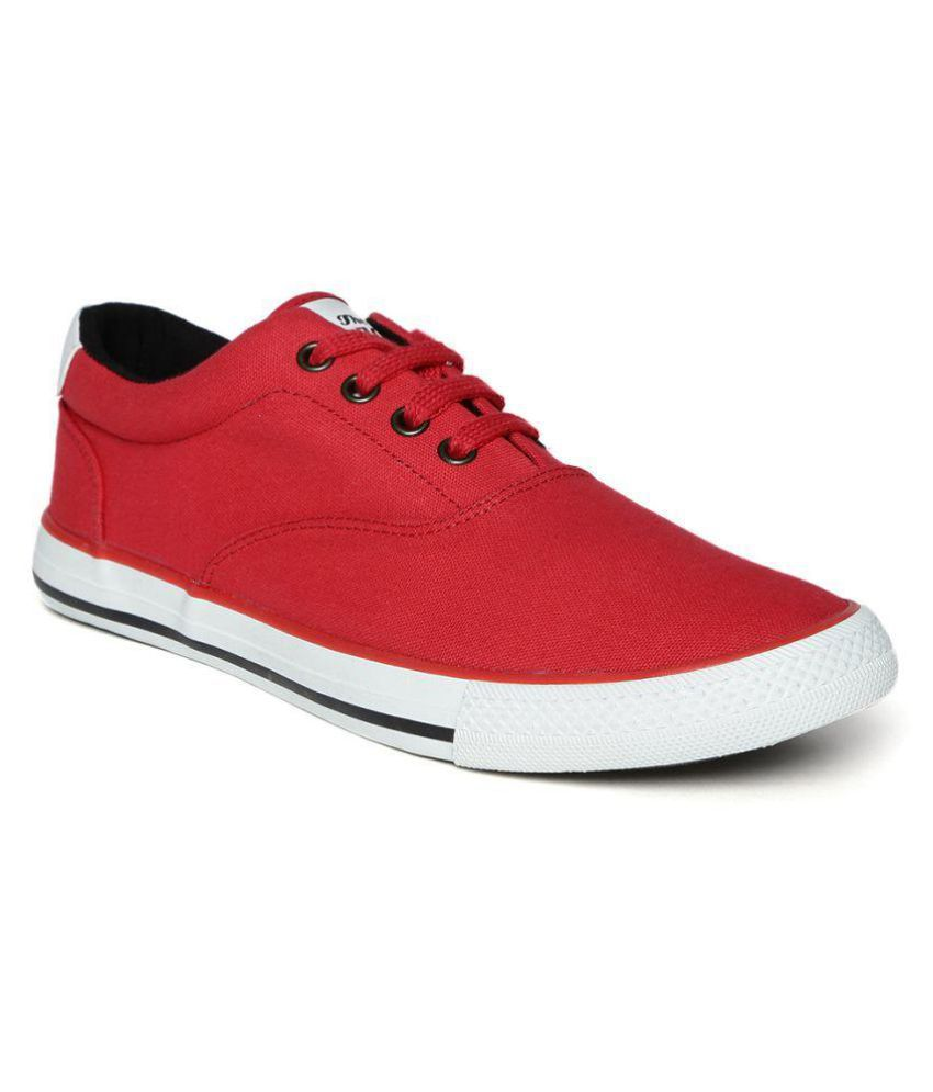 87d76ba4846 Roadster Red Casual Shoes - Buy Roadster Red Casual Shoes Online at Best  Prices in India on Snapdeal