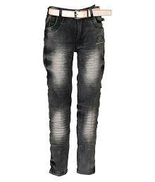 Awack Grey Designer Jeans for Boys