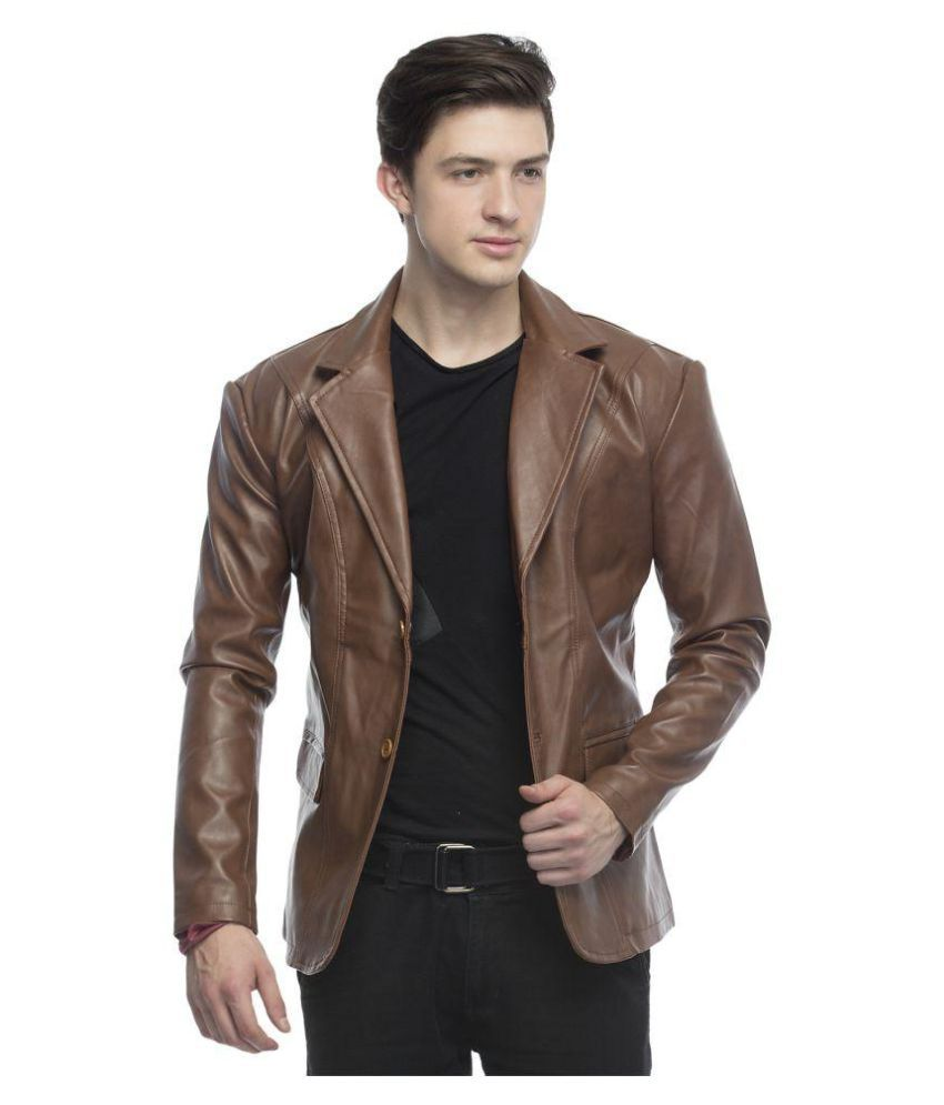 lambency brown casual jacket buy lambency brown casual jacket