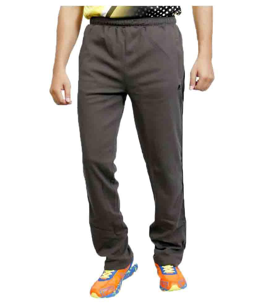 Vector X Gray Cotton Trackpant