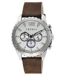 Esprit Analog Silver Dial Mens Watch