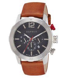 Esprit Brown Analog Watch