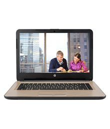 HP G Series 346 G3 Notebook Core i3 (5th Generation) 4 GB 35.56cm(14) DOS Not Applicable Golden