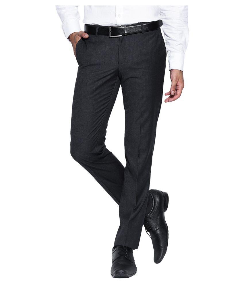 BLACKBERRYS Indigo Blue Skinny Flat Trousers