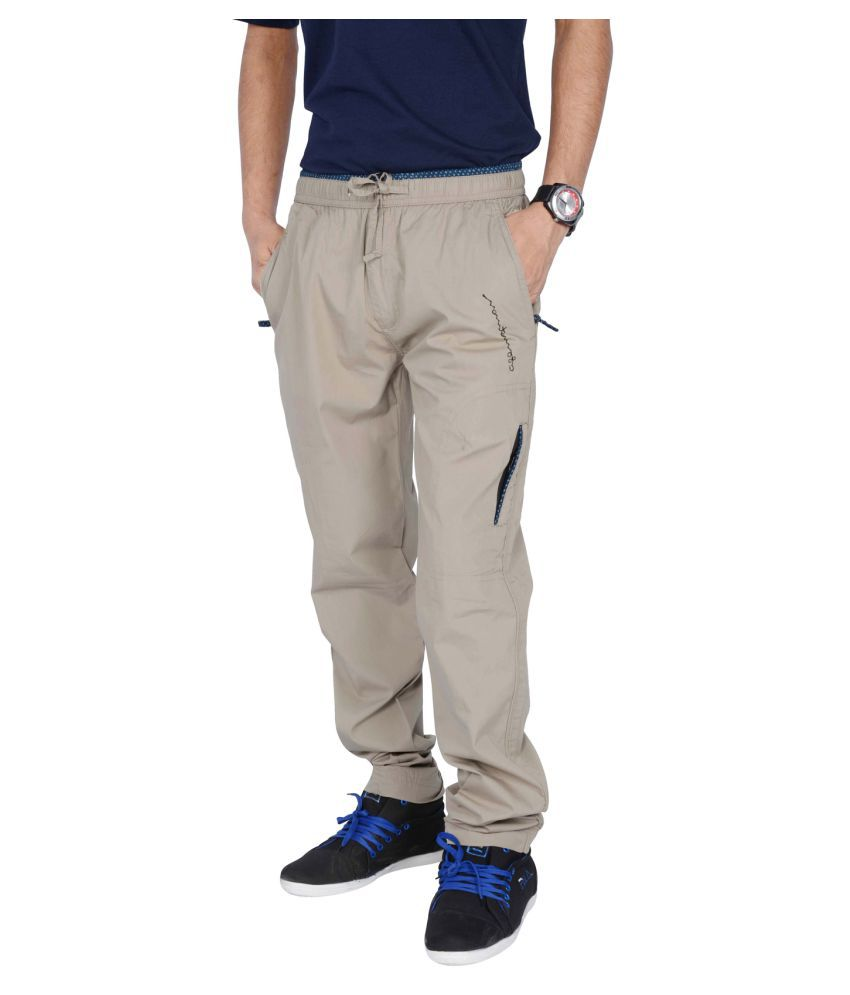 attractive colour hot product popular design Jtinternational Grey Cotton Trackpants Pack of 1