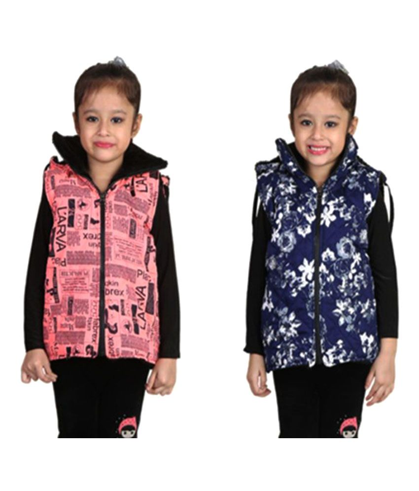 Crazies Multicolor Jackets - Pack of 2