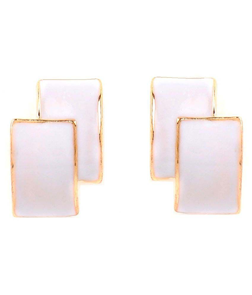 GoldNera Ellie Alloy Studs Earrings