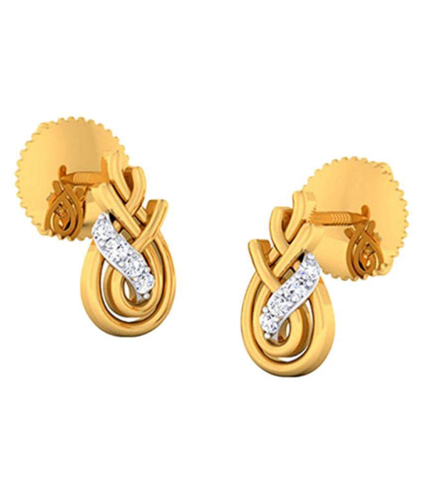Kataria Jewellers 92.5 BIS Hallmarked Silver Cubic zirconia Studs