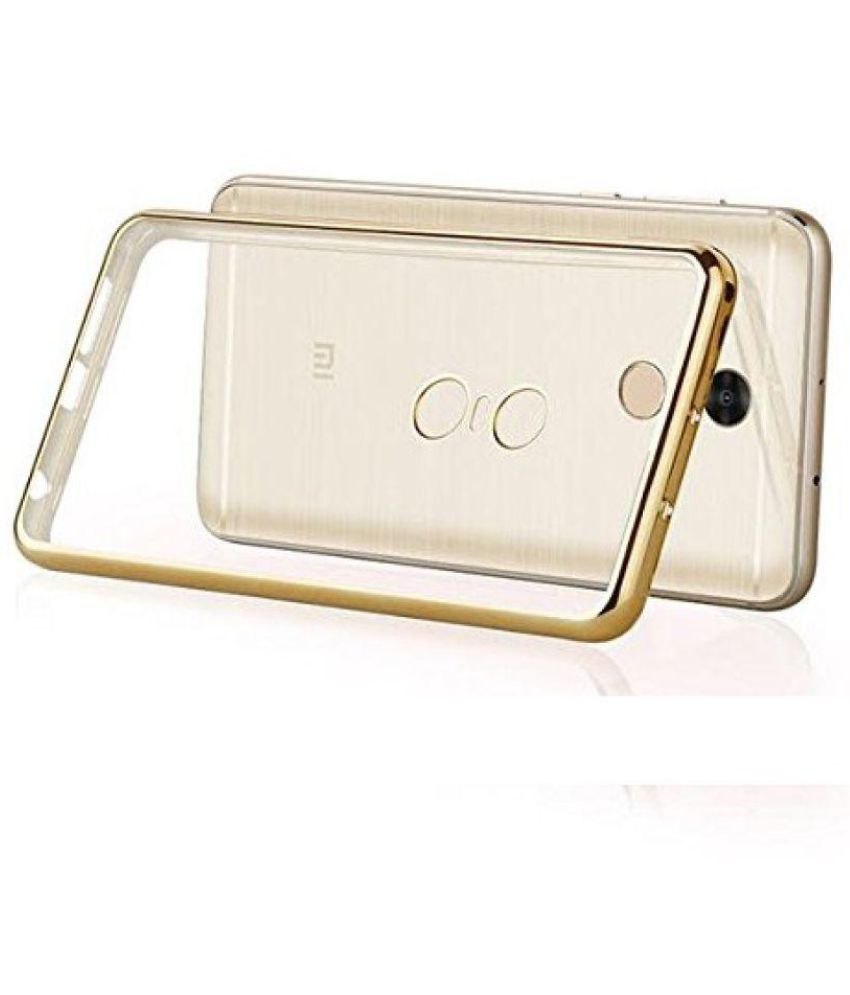 new product 00bc2 3d516 Xiaomi Redmi Note 4 Cover by PREMSONS - Golden