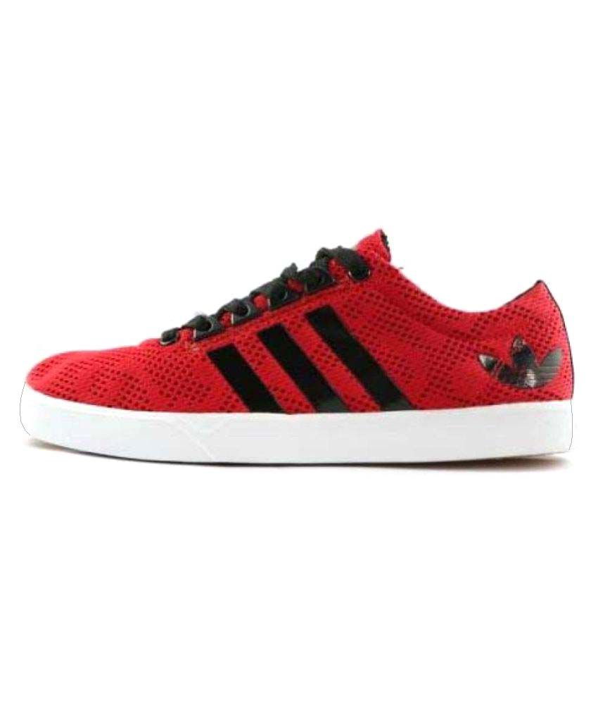682753a83cd Adidas Neo Red Casual Shoes - Buy Adidas Neo Red Casual Shoes Online at Best  Prices in India on Snapdeal