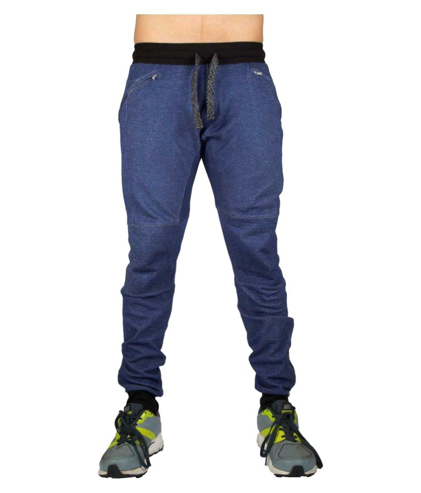 Aesthetic Nation Dark Blue Blend Trackpants