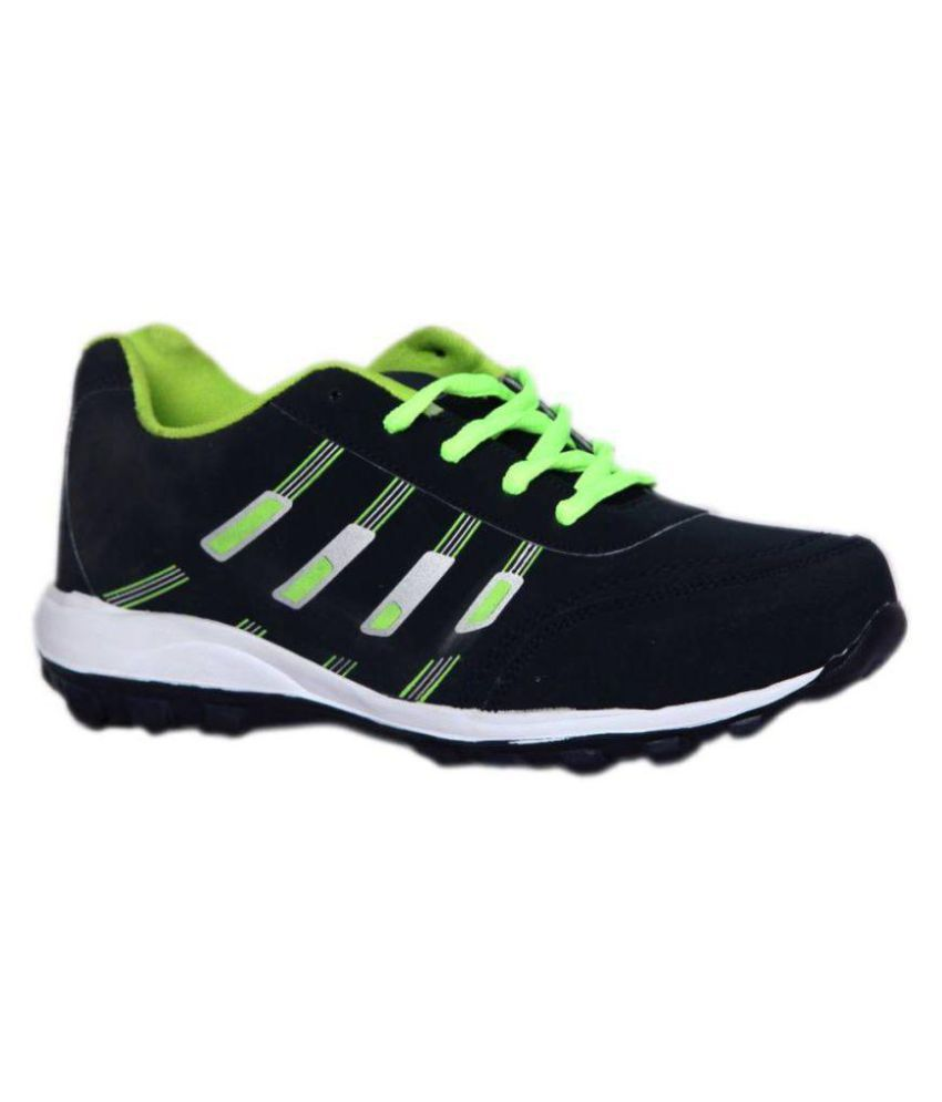 Spick 1570 P. Black Running Shoes