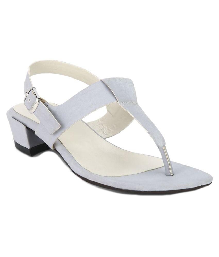 Lavie Gray Block Heels