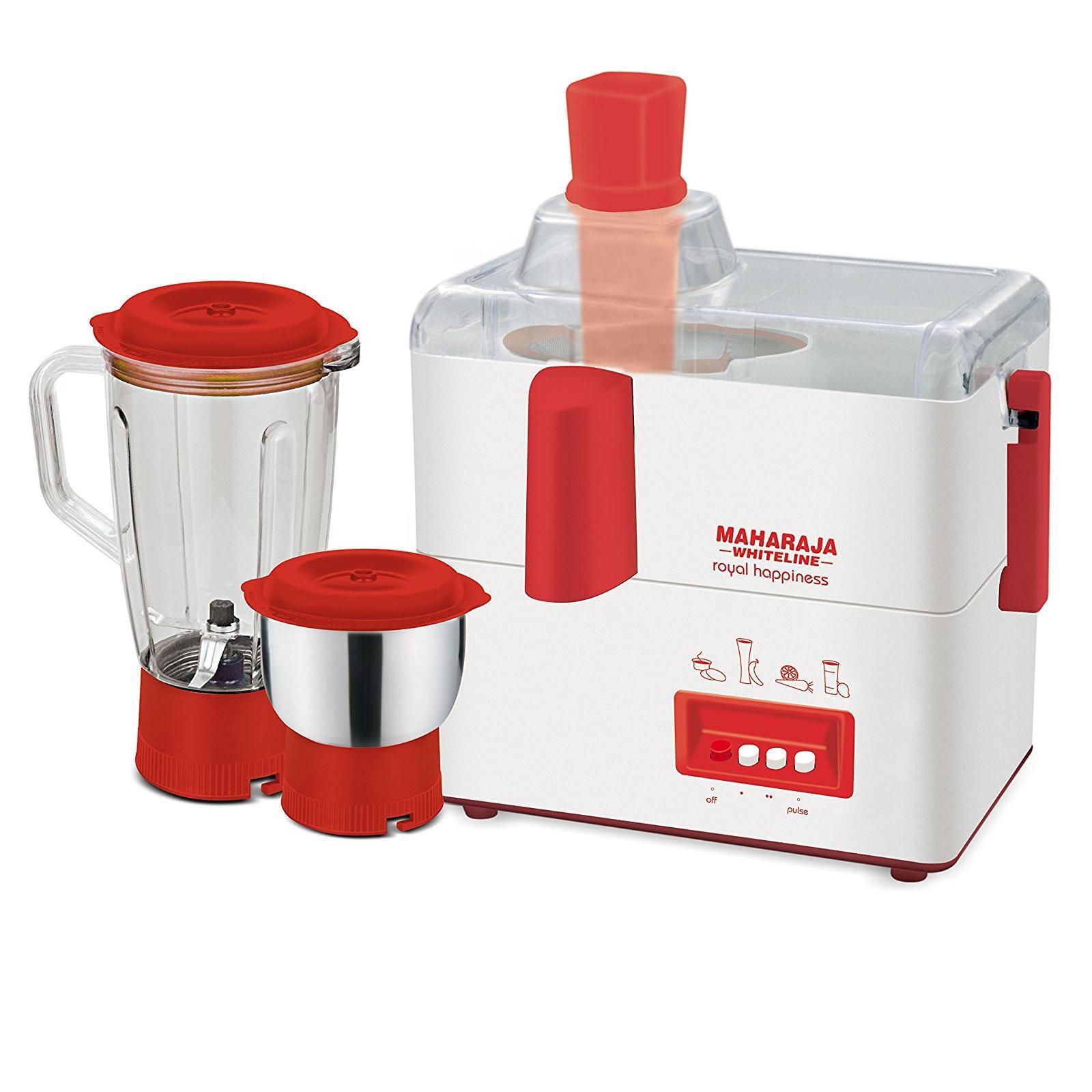 Maharaja Whiteline JX 118 450 Watt 2 Jar Juicer Mixer Grinder