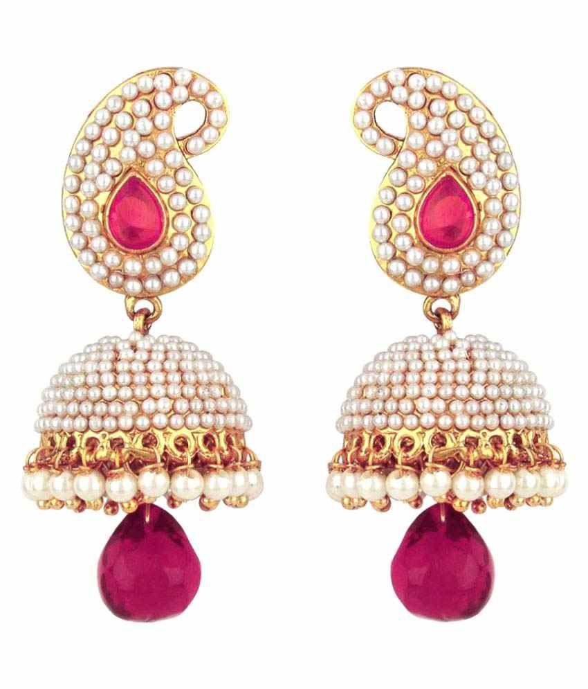 Styylo Fashion Multicolour Hanging Earrings