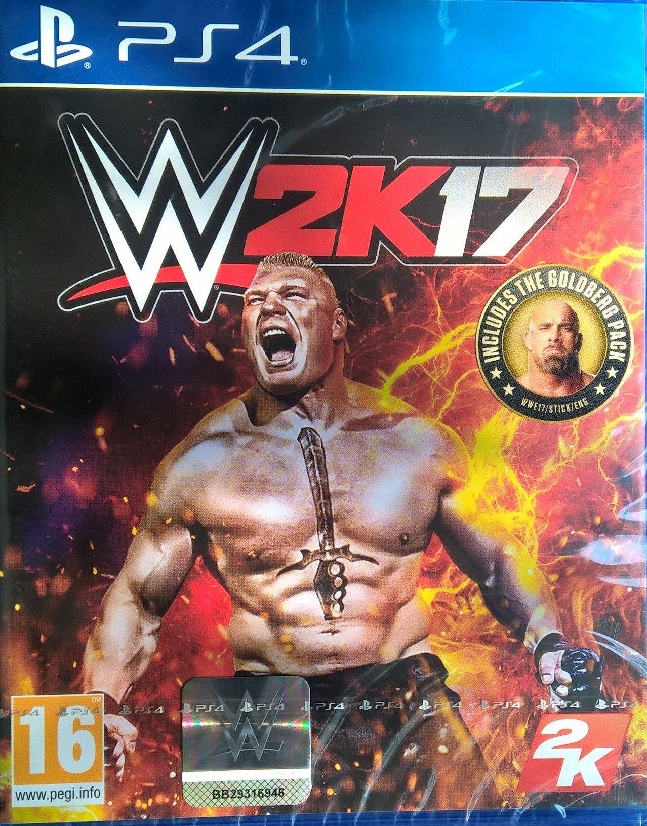 WWE 2K17 ( PS4 )