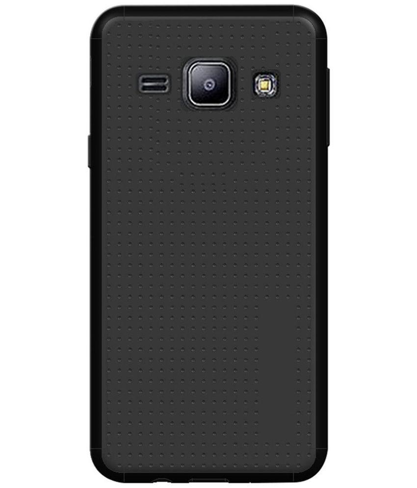 free shipping 550ca 1bdb8 Samsung Galaxy J1 4G Soft Silicon Cases Knotyy - Black