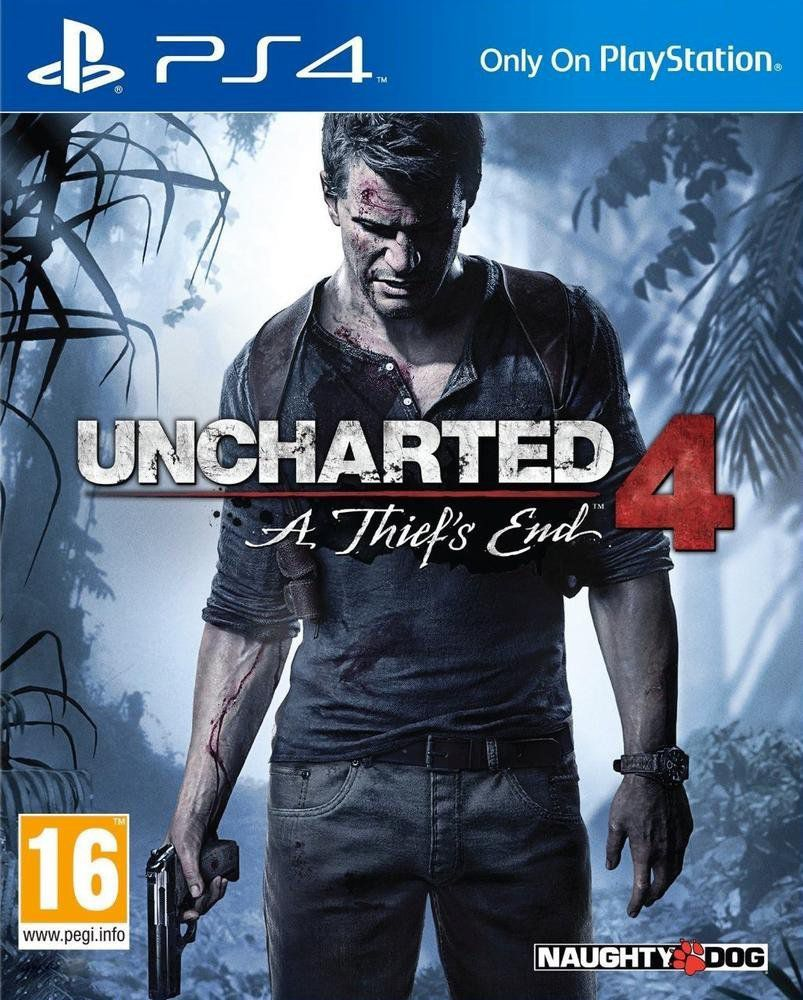 Uncharted 4 : A Thiefs End PS4