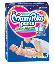 Mamy Poko Pants Diaper S - 60 Pieces