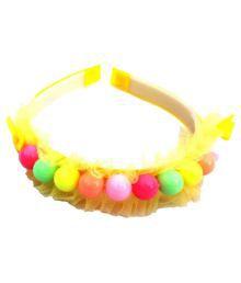 Binng Yellow Plastic Hairband