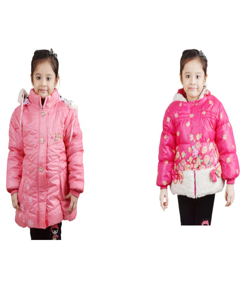 Crazeis Pink Jacket - Pack of 2