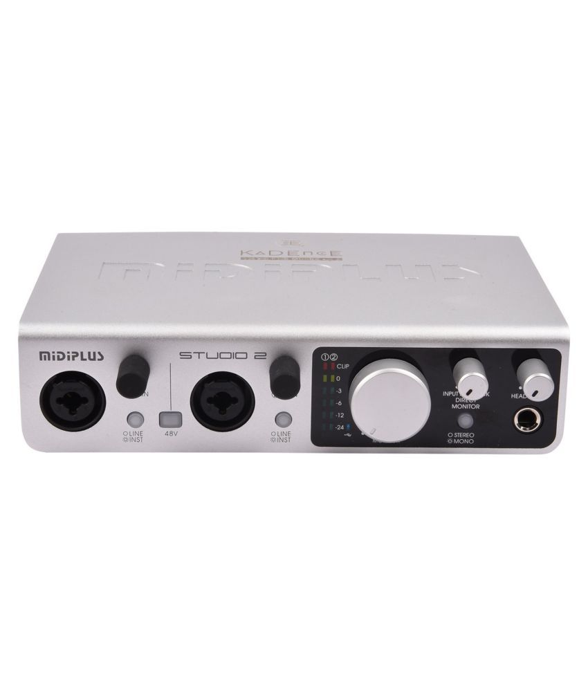 kadence midiplus audio interface studio 2 buy kadence midiplus