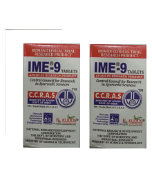 Kudos IME-9 Tablet 120 no.s