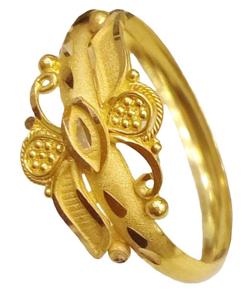 Al Gelani Jewellers 22k Gold Ring