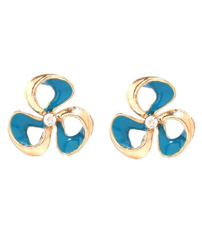 Tsquare Multicolour Stud Earrings