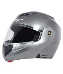 Vega Auto Crx-dx-a - Full Face Helmet Silver M