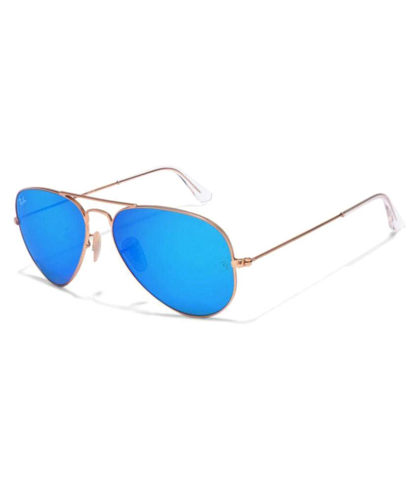 74002aeb0b0d8 Ray-Ban Blue Aviator Sunglasses ( rb3026 62d14-138 ) - Buy Ray-Ban Blue  Aviator Sunglasses ( rb3026 62d14-138 ) Online at Low Price - Snapdeal